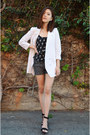 Sequin-shorts-tbdress-shorts-tank-top-q2han-top-black-sandals-zara-sandals