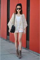 shoulder bag Trendy Blendy bag - kimono cardigan Q2HAN cardigan