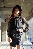 Choies skirt - Q2HAN blouse