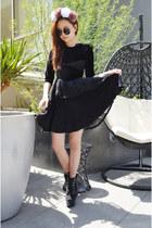 velvet dress Peppermint Milk dress