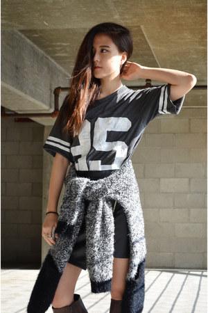 varsity  shirt Q2HAN shirt - Qlynna cardigan