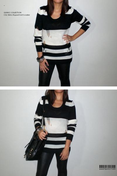 black QUINCC sweater - black QUINCC accessories