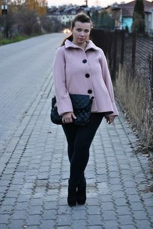 Stradivarius boots - Zara cardigan