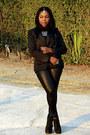 Black-mango-blazer