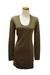 light brown Qi cashmere dress