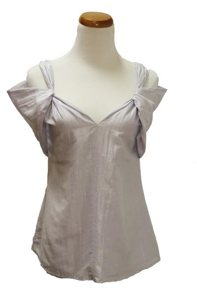 periwinkle Qi cashmere shirt