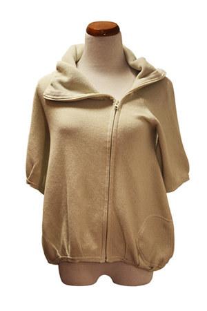 beige Qi cashmere jacket