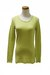 chartreuse Qi cashmere top