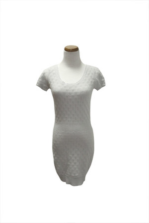 silver Qi cashmere dress