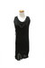 black QiCashmere dress