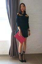 black Altuzarra for target sweater - hot pink Valentino bag
