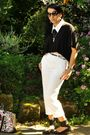 Black-h-m-top-white-vintage-pants-black-shoes-white-diy-miu-miu-accessorie