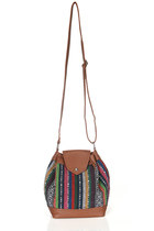 Alpine | Tribal Pattern Cross Body Mini Bag