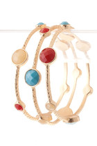 jewel bangle bracelet
