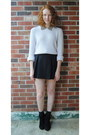 Beige-thrift-sweater-black-rampage-boots-black-thrift-skirt
