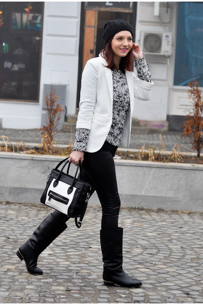 persun blazer - AX Paris leggings