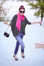 madewell scarf - OASAP sunglasses