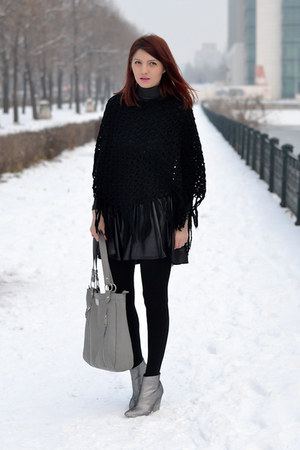 AX Paris skirt - H&M boots