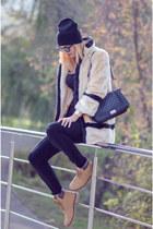 H&M hat - Romwecom jacket - zeroUV sunglasses