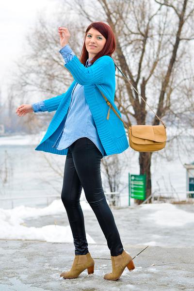 Dolce Vita boots - romwe sweater - AX Paris pants