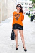 romwe shorts - bad style blouse