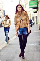 BB Dakota vest - blink boots - Oasapcom bag - Sheinside shorts