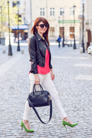 Zara shoes - Zara bag - zeroUV sunglasses - Stradivarius pants