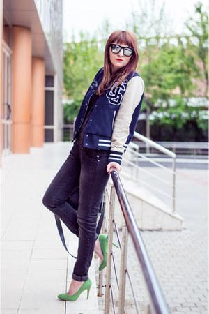 Stradivarius jacket - Stradivarius jeans - Zara pumps