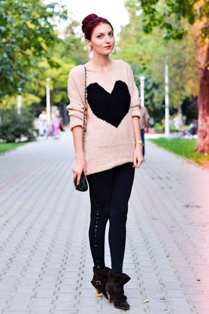 AX Paris sweater - blink boots