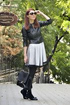 Vero Moda jacket - Vero Moda dress - Oasapcom bag