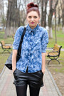 Romwe-shirt-stradivarius-coat-romwe-shorts