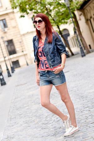 ligoro blouse - ligoro jacket - ligoro shorts