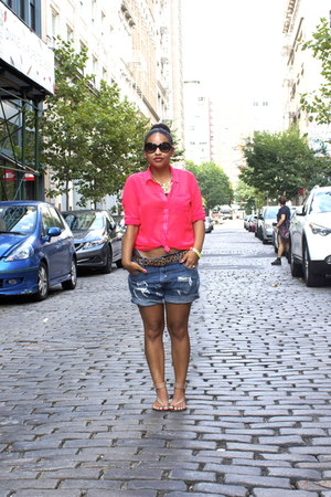 diy vintage levis shorts