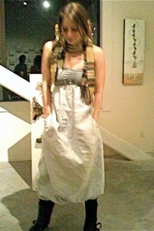 Bless dress - christian dior scarf - vintage - Jill Sander