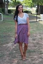 Target skirt - Forever 21 top - Forever 21 sandals