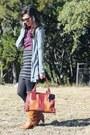 Bronze-dsw-boots-brown-fossil-bag-black-stripes-target-skirt