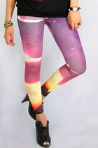 galaxy wwwgopinkponycom leggings