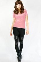 trianglematte wwwgopinkponycom leggings