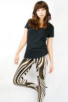 zebra wwwgopinkponycom leggings