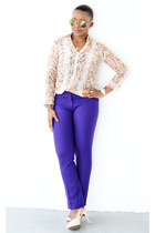 Express shirt - Loft pants - Guess pumps