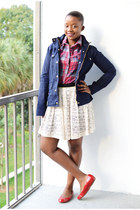 Cole Haan shoes - JCrew jacket - Target shirt - Macys skirt