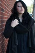 Gap sweater - Zara shirt - H&M scarf