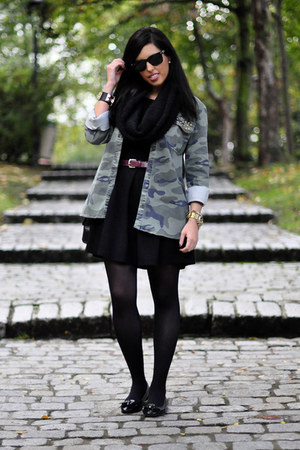 Lefties jacket - Lefties dress - Uterqe loafers