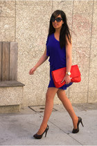 Zara dress - Zara bag - Zara pumps