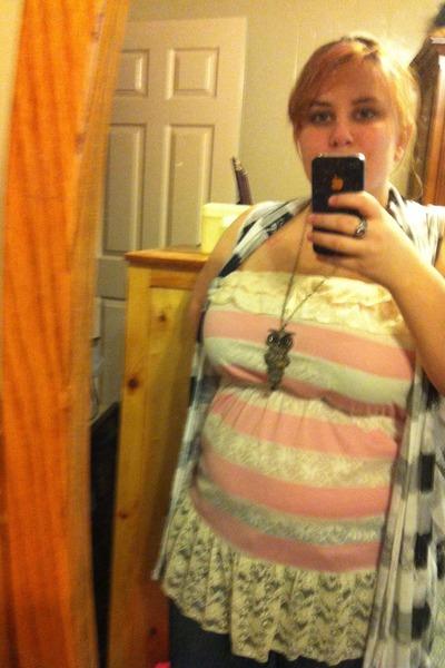 light pink no brand blouse