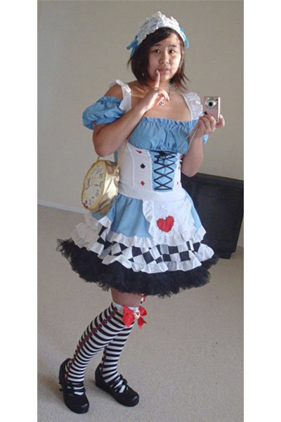 leg avenue stockings - from japan shoes - Spirit Halloween dress