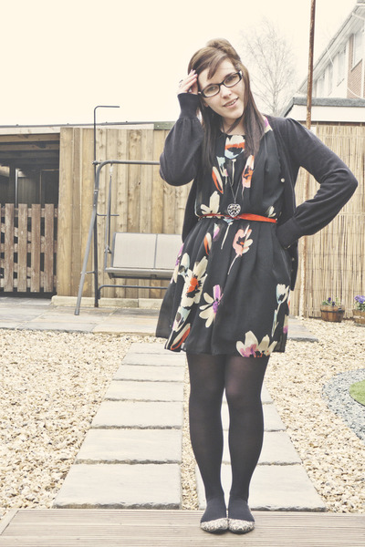 Black Primark Dresses Mustard Primark Flats  &quotFormal Florals&quot by ...