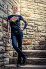 Black-dickies-jeans-black-the-big-bang-theory-t-shirt