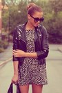 Black-zara-dress-white-zara-dress-black-h-m-jacket