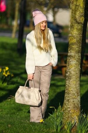cream Fashion Union jumper